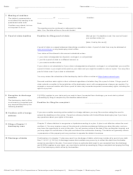 """Official Form 309F2 """"Notice of Chapter 11 Bankruptcy Case (For Individuals or Joint Debtors Under Subchapter V)"""", Page 2"""