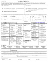 "Form JS44 ""Civil Cover Sheet"""