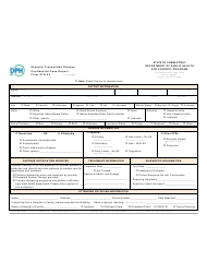 """Form STD-23 """"Sexually Transmitted Disease Confidential Case Report"""" - Connecticut, Page 2"""