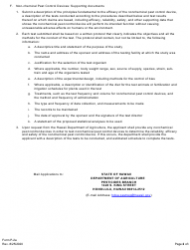 """Instructions for Form P-2 """"Application for License of Pesticides and Non-chemical Pest Control Devices"""" - Hawaii, Page 2"""