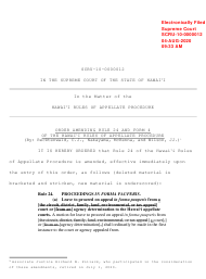 """Form 4 """"Declaration to Accompany Motion for Leave to Appeal in Forma Pauperis"""" - Hawaii"""