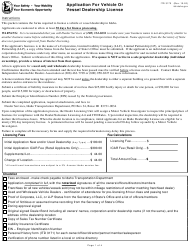 """Form ITD3170 """"Application for Vehicle or Vessel Dealership License"""" - Idaho"""