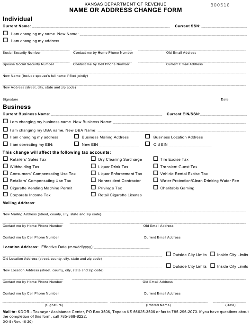 Form DO-5 Printable Pdf