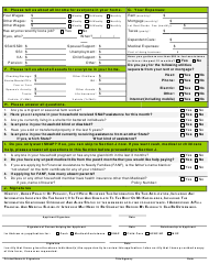 """BFA Form 800 """"Application for Assistance"""" - New Hampshire, Page 4"""