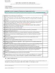 "Form A-1320 ""Monthly Estimate Checklist"" - New Mexico"