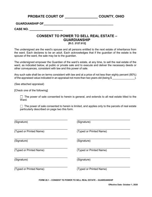 Form 28.1  Printable Pdf