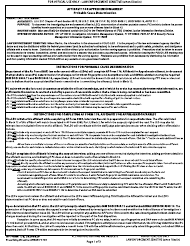 "AF Form 178 ""Affidavit for Apprehension/Arrest"""