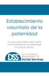 "Form BRO/DCS6S ""Voluntary Acknowledgment of Paternity"" - South Dakota (English/Spanish)"