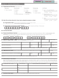 """Form TC-69 """"Utah State Business and Tax Registration"""" - Utah, Page 2"""