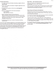 """Form TC-69 """"Utah State Business and Tax Registration"""" - Utah, Page 4"""