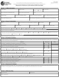 "Form 1045 ""Request for Extension of Enrollment Offer Due Date"" - Texas"