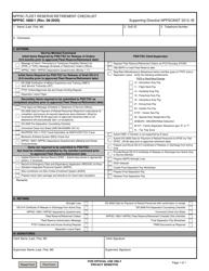 "Form NPPSC1800/1 ""Nppsc Fleet Reserve/Retirement Checklist"""
