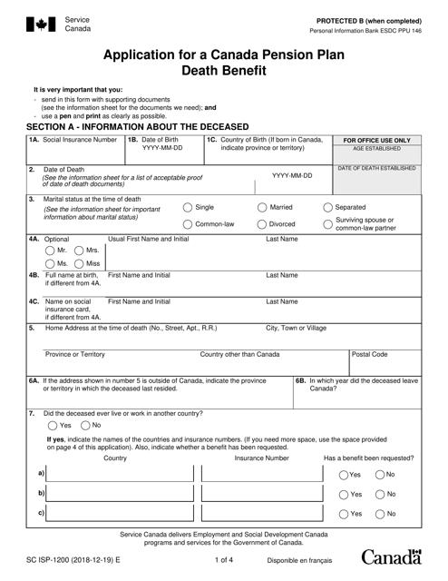 Form SC ISP-1200  Printable Pdf