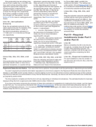 """Instructions for IRS Form 8804-W """"Installment Payments of Section 1446 Tax for Partnerships"""", Page 4"""