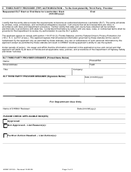 """Form HSMV82150 """"Application and Notice of Interest - Electronic Lien and Title Process"""" - Florida, Page 3"""
