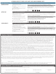 """""""Active Employees Health Benefits Enrollment and Change Form"""" - Maryland, Page 4"""