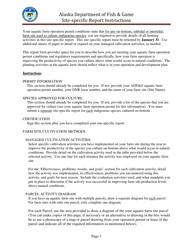 "Instructions for ""Aquatic Farming on-Bottom Site-Specific Report"" - Alaska"