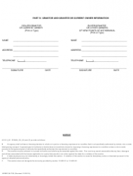 """Form ADWR58-700 """"Notification of Change of Ownership and/or Change in Point of Withdrawal for a Type 2 Non-irrigation Grandfathered Right"""" - Arizona, Page 3"""