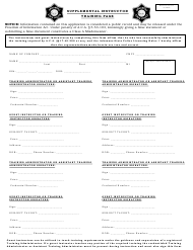 """Supplemental Instructor Training Page"" - Arkansas"