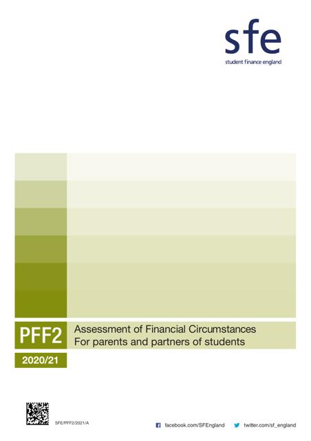 Form PFF2 2021 Printable Pdf
