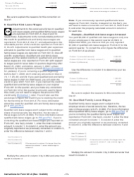 """Instructions for IRS Form 941-X """"Adjusted Employer's Quarterly Federal Tax Return or Claim for Refund"""", Page 11"""