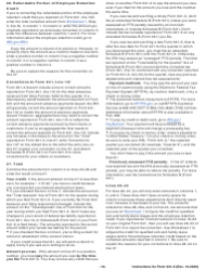 """Instructions for IRS Form 941-X """"Adjusted Employer's Quarterly Federal Tax Return or Claim for Refund"""", Page 18"""