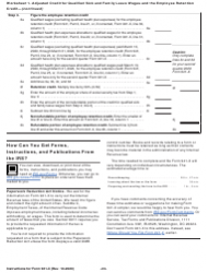 """Instructions for IRS Form 941-X """"Adjusted Employer's Quarterly Federal Tax Return or Claim for Refund"""", Page 23"""