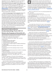 """Instructions for IRS Form 941-X """"Adjusted Employer's Quarterly Federal Tax Return or Claim for Refund"""", Page 3"""