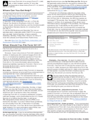 """Instructions for IRS Form 941-X """"Adjusted Employer's Quarterly Federal Tax Return or Claim for Refund"""", Page 4"""