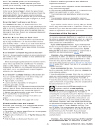 """Instructions for IRS Form 941-X """"Adjusted Employer's Quarterly Federal Tax Return or Claim for Refund"""", Page 6"""