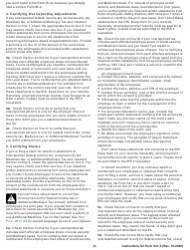 """Instructions for IRS Form 941-X """"Adjusted Employer's Quarterly Federal Tax Return or Claim for Refund"""", Page 8"""