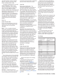 "Instructions for IRS Form 8621 ""Information Return by a Shareholder of a Passive Foreign Investment Company or Qualified Electing Fund"", Page 12"