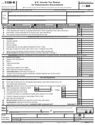 """IRS Form 1120-H """"U.S. Income Tax Return for Homeowners Associations"""""""