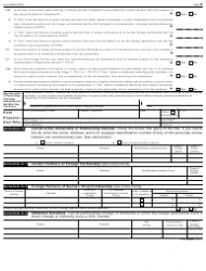 """IRS Form 8865 """"Return of U.S. Persons With Respect to Certain Foreign Partnerships"""", Page 2"""
