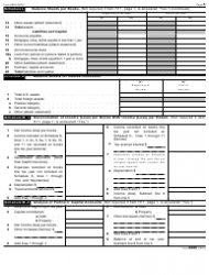 """IRS Form 8865 """"Return of U.S. Persons With Respect to Certain Foreign Partnerships"""", Page 5"""