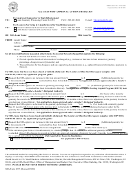 """SBA Form 2237 """"7(A) Loan Post Approval Action Checklist"""""""