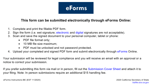 Form LLC-2  Printable Pdf