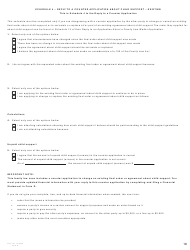"""Form G (PFA716) """"Reply to a Counter Application"""" - British Columbia, Canada, Page 18"""