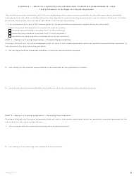 """Form G (PFA716) """"Reply to a Counter Application"""" - British Columbia, Canada, Page 8"""