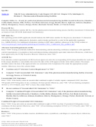 """Form OP-UA34 (TCEQ-10291) """"Pharmaceutical Manufacturing Facility Attributes"""" - Texas, Page 2"""