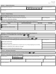"""Form 1347 """"Emflaza Authorization Request (Medicaid)"""" - Texas, Page 2"""