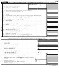 """IRS Form 1120-PC """"U.S. Property and Casualty Insurance Company Income Tax Return"""", Page 3"""