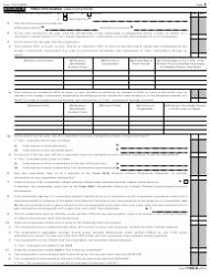"""IRS Form 1120-S """"U.S. Income Tax Return for an S Corporation"""", Page 2"""