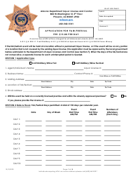 """Application for Fair/Festival"" - Arizona"