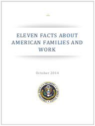 """""""Eleven Facts About American Families and Work"""""""