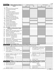 "IRS Form 1120 ""U.S. Corporation Income Tax Return"", Page 6"