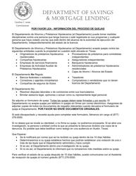 """""""Formulario De Queja"""" - Texas (Spanish)"""