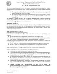 "Form UNI-17 ""Nocm Care Provider Training Plan"" - Alaska"