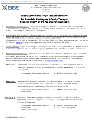 """Form 37A-590A """"Application for Subsequent Associate Marriage and Family Therapist Registration"""" - California"""