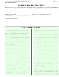 "Form 15 ""Seller's Disclosure Statement"" - Minnesota"